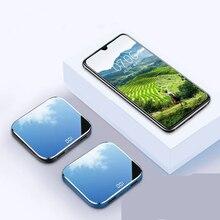 Мини Мощность Банка 10000/15000/20000Mah Зеркало Экран быстрой зарядки Портативный Зарядное устройство Внешнего Батарея для iphone xiaomi samsung
