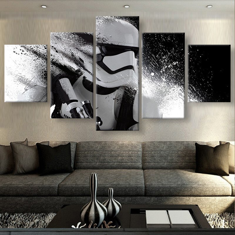 Online get cheap stars wars pictures for Cadre multi photos mural