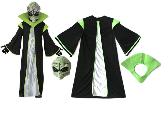 Children Halloween Star Wars: The Force Awakens  yoda  Aliens ET Clothing  Dance Clothes Cosplay  Fancy  Party  2