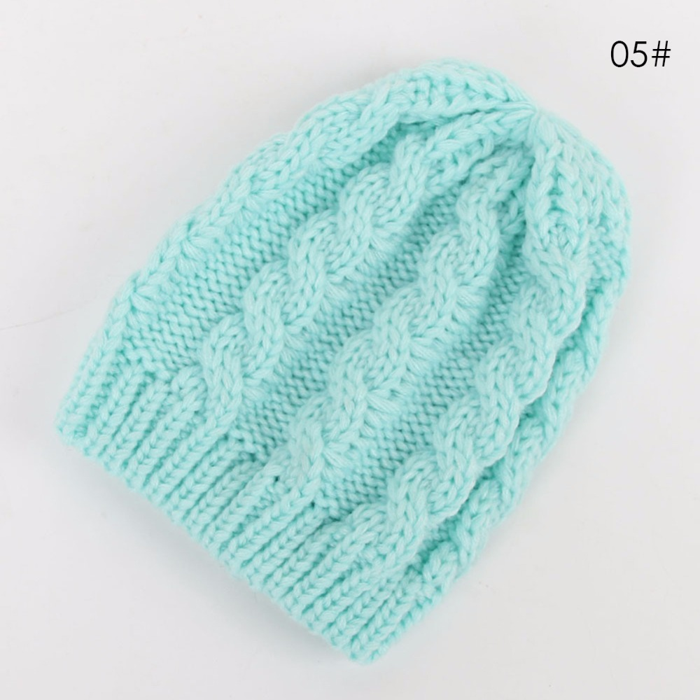04d8033a2f3 Puseky Winter Warm Baby Toddler Kids Boys Girls Knitted Caps Cute Hats  Crochet Hat Cap 5 Colors-in Hats   Caps from Mother   Kids on  Aliexpress.com ...