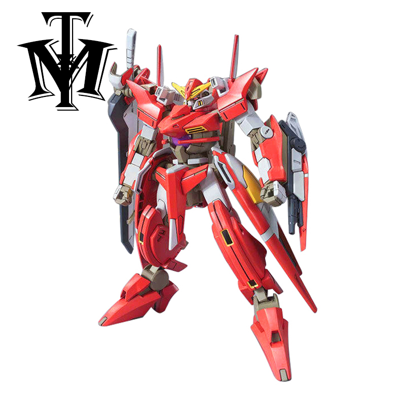 Japan Brand Gaogao HG 1/144 Gundam Action Figure Throne Zwei model kids Puzzle assembled Robot boy Anime toy collectibles Arts 1