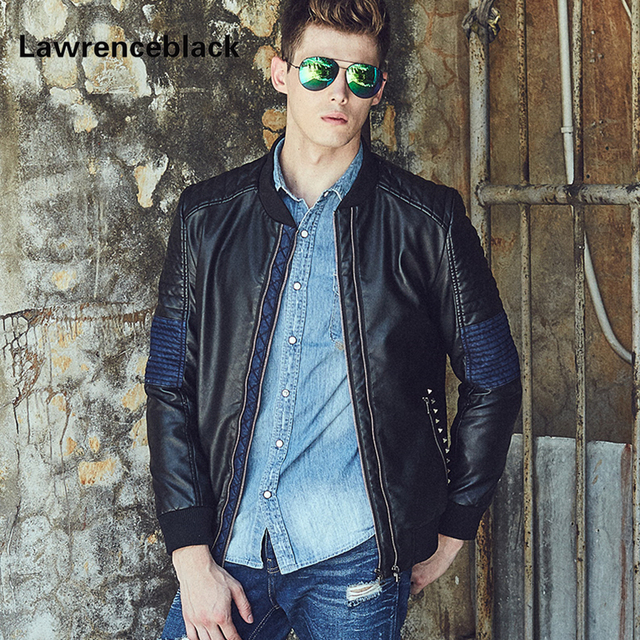 Leather Jacket Men Punk Brand Suede Luxury Fashion Coats Casual Leather Jaqueta De Couro Masculino Motorcycle Jackets Coats 160