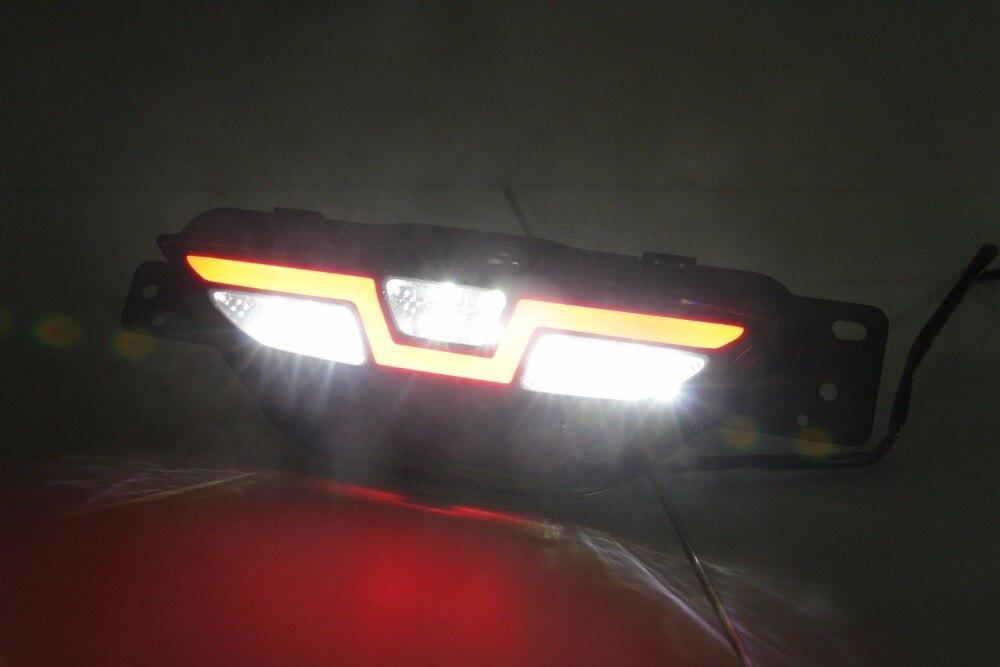 led rear bumper light for toyota chr CH-R 2017 2018, driving lamp + brake light + reverse light 3 functions warning light eosuns led rear bumper light for for toyota vellfire 2016 2018 driving lamp brake light 2 functions warning light