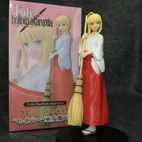 New Arrival 21cm Saber Fate/hollow Ataraxia Stay Night Saber Witch Costumes Broom Psychic Ver Model Anime Action Figure 8.3''
