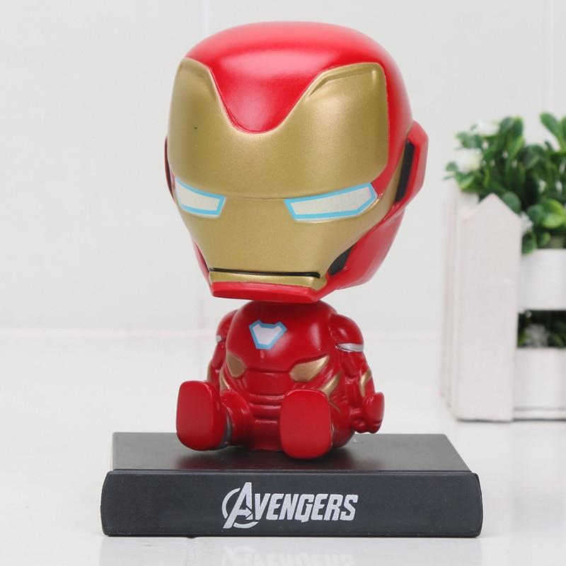 Avengers Infinity War Transformation Spiderman Thanos Hulk Captain Action Figure