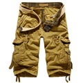New Men cargo Shorts Bermuda Masculina Men Casual Cargo Shorts for men Camo Cargo Shorts Military Camouflage Short
