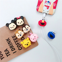 Cartoon Cable Protector Data Wire Cover for iPhone USB Charging x