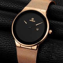 VINOCE Original Watch Men Top Brand Luxury Men Watch Steel Clock Men Watches Relogio Masculino Horloges Mannen Erkek Saat - DISCOUNT ITEM  49% OFF All Category