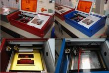 Free Ship K-3020 Laser Co2 40W CNC Cutting Machine Engraving Red-light Pointion P3 configuration