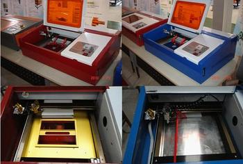 цена на Free Ship K-3020 Laser Co2 40W CNC Laser Cutting Machine Laser Engraving Machine Red-light Pointion P3 configuration