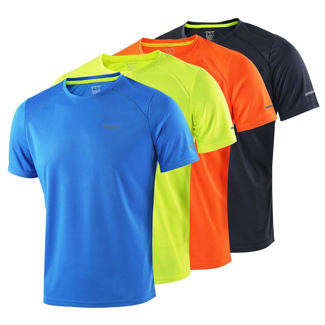 Breathable Men's T-Shirt for Soccer and Running