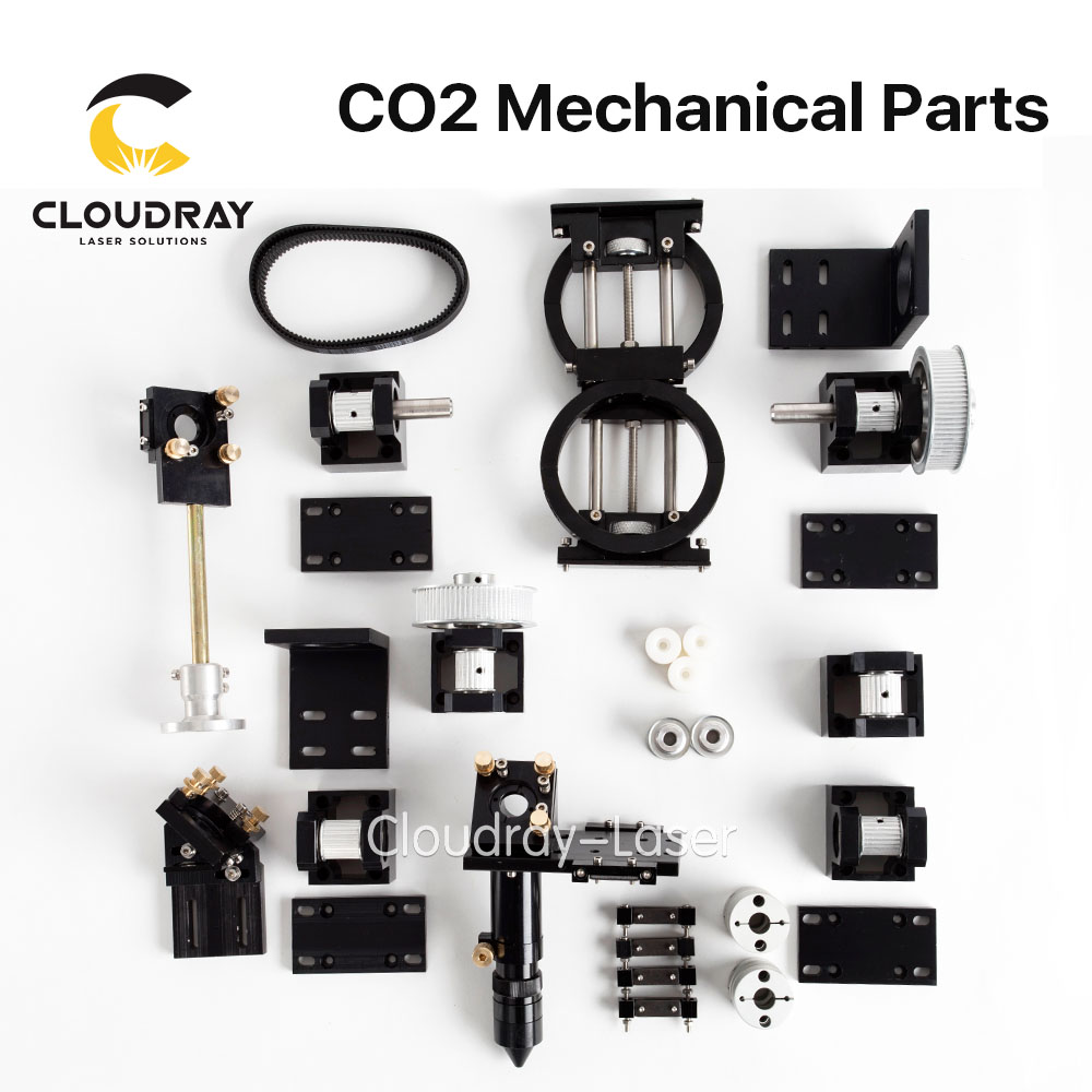 Cloudray CO2 Laser Mechanical Parts Metal Components for DIY CO2 Laser Engraving Cutting Machine Model B поводок для собак happy house luxury цвет темно коричневый длина 125 см