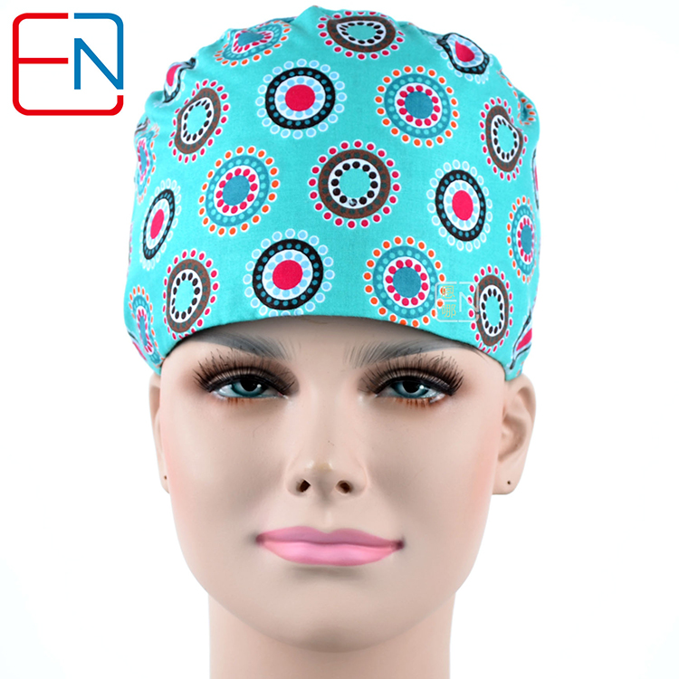 Surgical Scrub Caps ,lab Caps,skull Caps   100% Cotton One Size Medical Scrub Caps