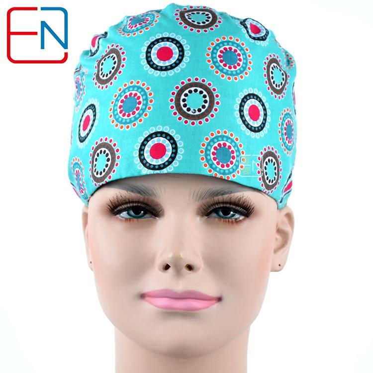 Surgical Scrub Caps ,lab Caps,skull Caps   100% Cotton One Size Medical Scrub Caps