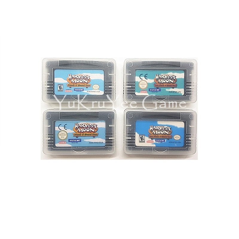 Harvest Moon Series Video Game Cartridge Console Card for 32 Bit Handheld Player Console System недорго, оригинальная цена