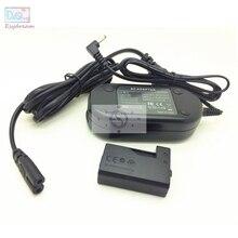 מצלמה AC חשמל מתאם ערכה עבור Canon 1500D 2000D 3000D 1300D 1200D 1100D REBEL T3 T5 T6 T7 X80 X90 כמו ACK E10 LP E10