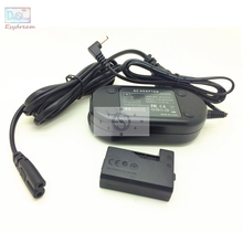 Камера AC Мощность набор адаптеров для объектива Цифрового Фотоаппарата Canon 1500D 2000D 3000D 1300D 1200D 1100D REBEL T3 T5 T6 T7 X80 X90 как ACK E10 LP E10