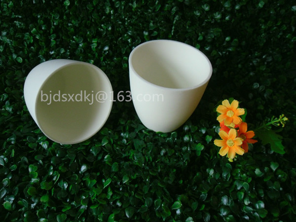 99.3% alumina crucible / 500ml / Arc-Shaped / corundum crucible / Al2O3 ceramic crucible / Sintered crucible цена