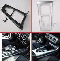 Für Mercedes Benz EINE CLA Klasse W177 C118 A180 A200 A220 CLA200 Zubehör Auto Styling Konsole Panel Trim Abdeckung Kunststoff aufkleber