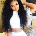 Mi lisa Peruvian Virgin Hair 4 Bundles Kinky Curly Weave Human Hair Bundles Wet and Wavy Hair Peruvian Kinky Curly Virgin Hair