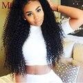 Mi lisa cabelo virgem peruano 4 pacotes encaracolado kinky tecer humano Feixes de cabelo Molhado e Ondulado Cabelo Peruano Kinky Curly Virgem Cabelo