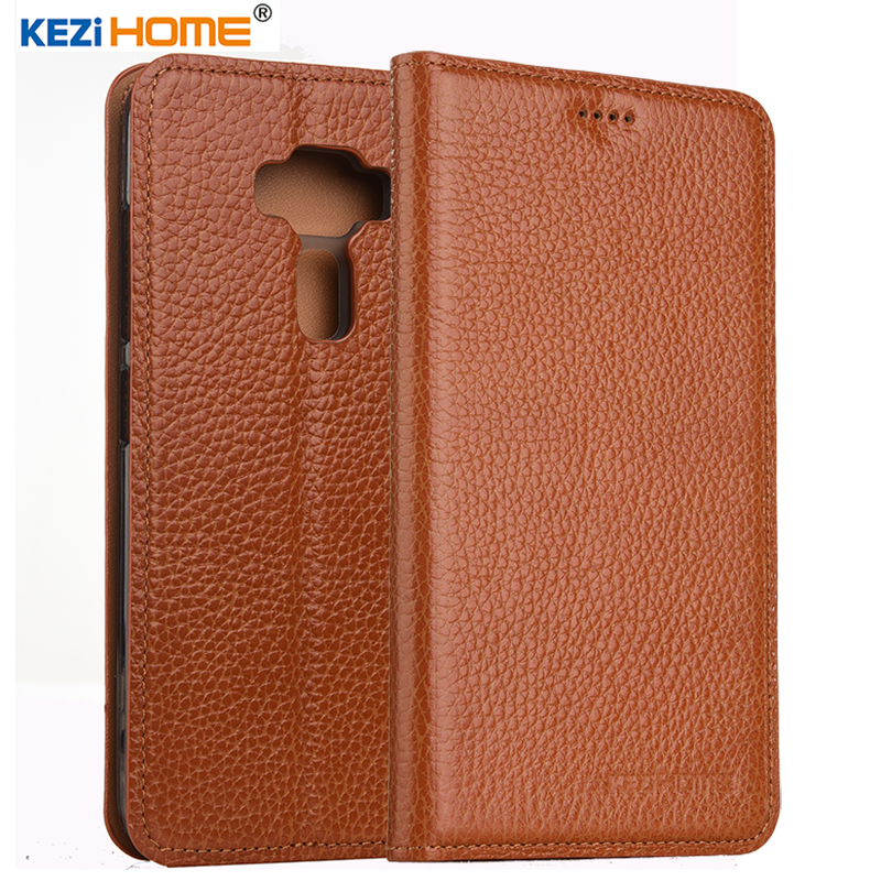 KEZiHOME <font><b>for</b></font> <font><b>ASUS</b></font> <font><b>Zenfone</b></font> <font><b>3</b></font> <font><b>ZE520KL</b></font> <font><b>case</b></font> <font><b>Flip</b></font> genuine leather soft silicon back <font><b>for</b></font> <font><b>ASUS</b></font> <font><b>Zenfone</b></font> <font><b>3</b></font> <font><b>ZE520KL</b></font> cover image