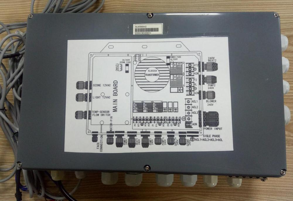 hot tub fuse box ethink control box pack only for chinese hot tub spa repair  box pack only for chinese hot tub spa
