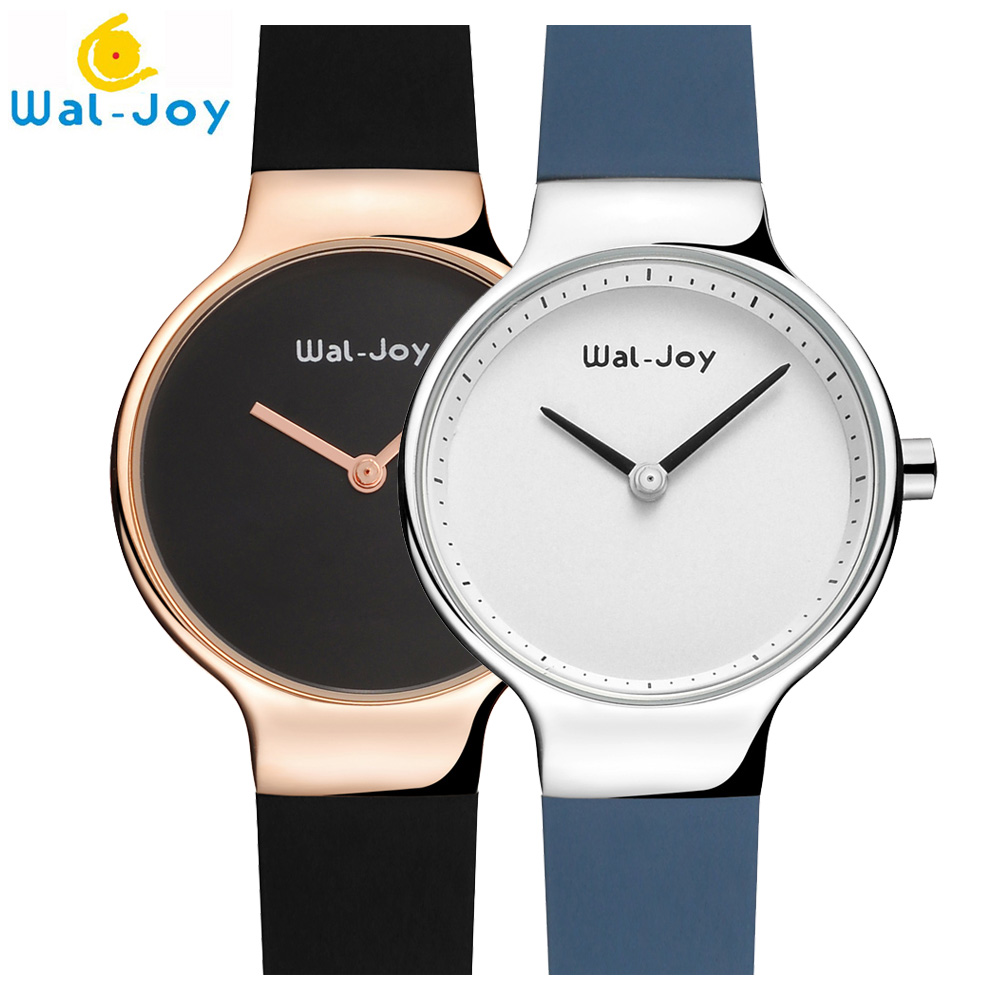 Wal-Joy 2018 Fashion Sport Silicone Watches Women Ladies Quartz creative wrist watch female Clock moment female hour rosefield mjartoria ladies watches clock women quartz watch simple sport bracelet watch student girl female hand wrist watches for women