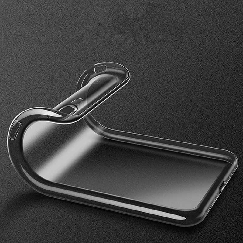 جراب هاتف مضاد للخبط لهاتف نوكيا 2.1 5.1 3.1X6 6 2018 6.1 7 plus 1 9 8 7 5 3 2 1 جراب هاتف من السيليكون الشفاف من مطاط البولي يوريثان