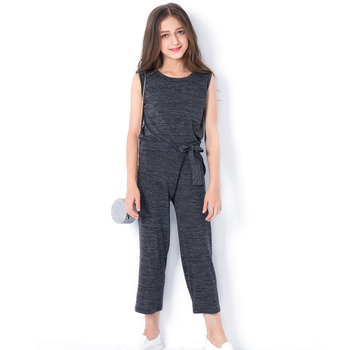Teen Girls Clothing Two-piece Girls Outfit Tops Pants 8 10 12 14 years Summer Autumn Girls Clothing Set