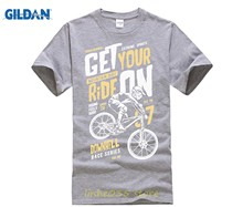 530c110d Get Your Ride on Mens Funny Downhill Mountain Biking T-Shirt CyclingER BikeR  MTB T Shirts Short Sleeve Leisure Fashion Summer