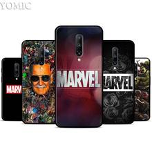 Marvel Superheroes Silicone Case for Oneplus 7 7Pro 5T 6 6T Black Soft Case for Oneplus 7 7 Pro TPU Phone Cover