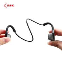SSK Bone Conduction Earphone Wireless Bluetooth 5.0 Headset Wireless Headphones Sport Earphone Waterproof with Microphone BT011 newest bone conduction bluetooth headphone sports headset stereo bass earphone with microphone usb wireless headphones