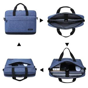 Image 2 - BAGSMART 15.6 Inch Laptop Briefcase Bag Handbag Nylon Briefcase Office Bags Business Computer Bags Blue