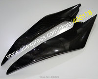 Hot Sales,2 Carbon Fiber Tank Side Covers Panels Fairing For Yamaha YZF R6 2008 2009 2010 2011 2012 2013 2014 2015 YZF R6 YZFR6