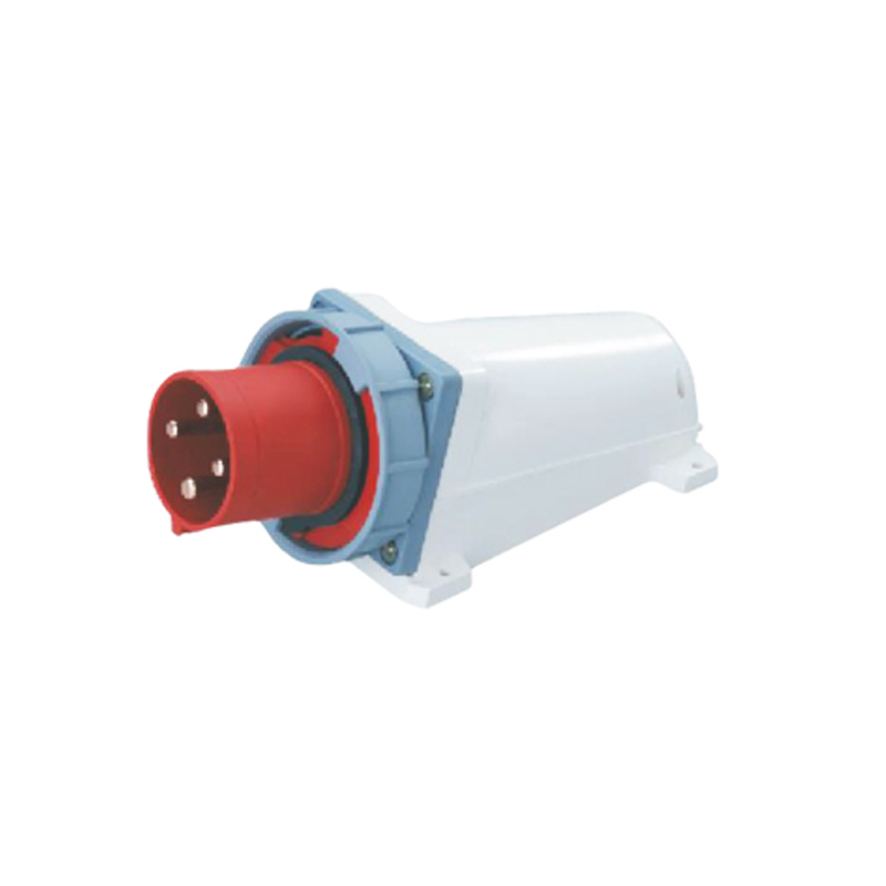 125A 4Pin industrial implement socket connector SF-544 surface mounted appliance socket 380-415V~3P+E cable connector IP67 125a 4pin 380 415v novel industrial waterproof appliance socket waterproof grade ip67 sfn 5442