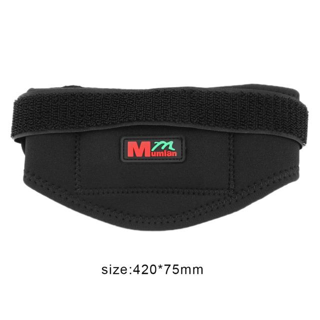 Mumian B02 Classical Man Woman Sport Patella Band Knee Guard Protecting Black Breathable And Comfortable Kneepad