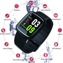Color Screen Smart Watch Men Women Smart Bracelet Fitness Tracker Heart Rate Monitor Fitness Program Watches For IOS Android
