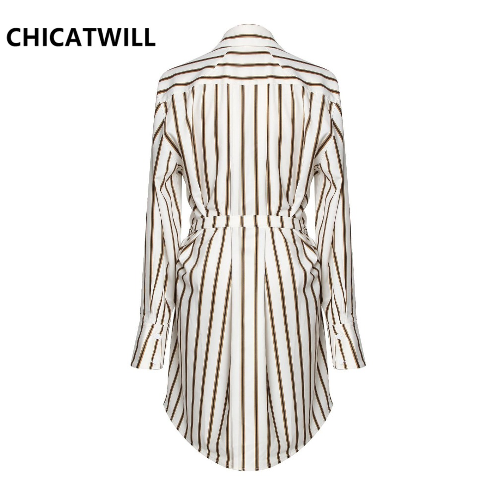 Runway Designer 2019 high street England Stripes Print blouses women Faux two pieces shirt Long Sleeves Top Office Lady Blusas in Blouses amp Shirts from Women 39 s Clothing