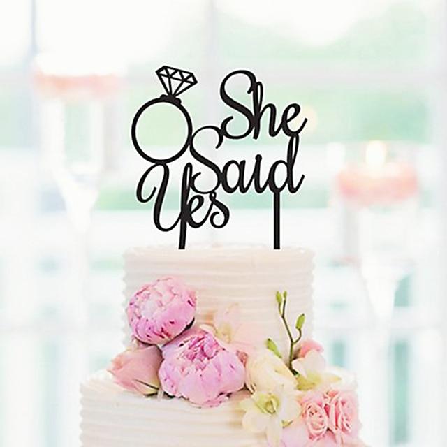 6ad81b0f9ae1 Bridal Shower Cake Topper