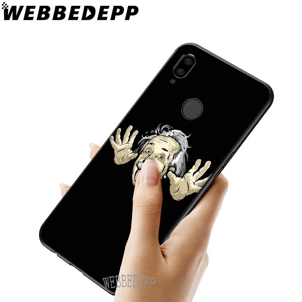 WEBBEDEPP Funny Cartoon Soft TPU Case Cover for Xiaomi Redmi GO Note 4 4X 5 6 pro 5A Prime 7 7 Pro in Fitted Cases from Cellphones Telecommunications