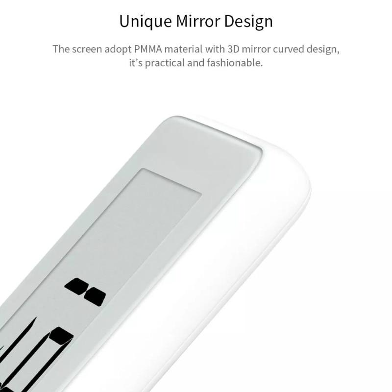 Image 2 - Original Xiaomi Mijia BT4.0 Wireless Smart Electric Digital clock  Outdoor Hygrometer Thermometer LCD Temperature Measuring ToolsSmart  Remote Control