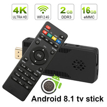 leelbox tv stick android tv box android 8 1 4k tv box android 8.1 2gb RAM 16gb RK3229 Quad Core wifi mini pc stick HD TV Dongle