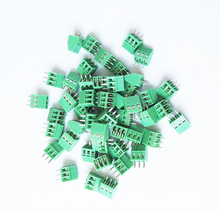 20Pcs 2.54mm Pitch PCB Screw Terminal Block 2P 3P 150V6A UL, 130V8A IEC, CE Rohs