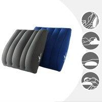 Горячие новые продукты надувная подушка для путешествий поясничная поддержка Флокированная Подушка облегчение боли в спине семейная деше...