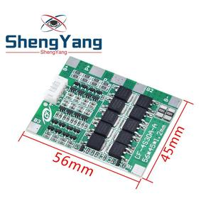 Image 4 - New Arrival 4S 30A 14.8V Li ion Lithium 18650 Battery BMS Packs PCB Protection Board Balance Integrated Circuits