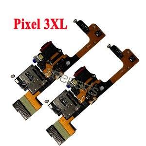 Image 5 - 100% testowane dla Google Pixel 2 Pixel 2XL stacja dokująca USB Port zamiennik kabla Flex Google Pixel 3 4 XL USB płytka ładująca