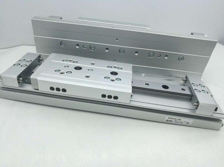 Купить с кэшбэком MXW8-100 MXW8-125 MXW8-150 SMC Pneumatic component slider cylinder MXW series
