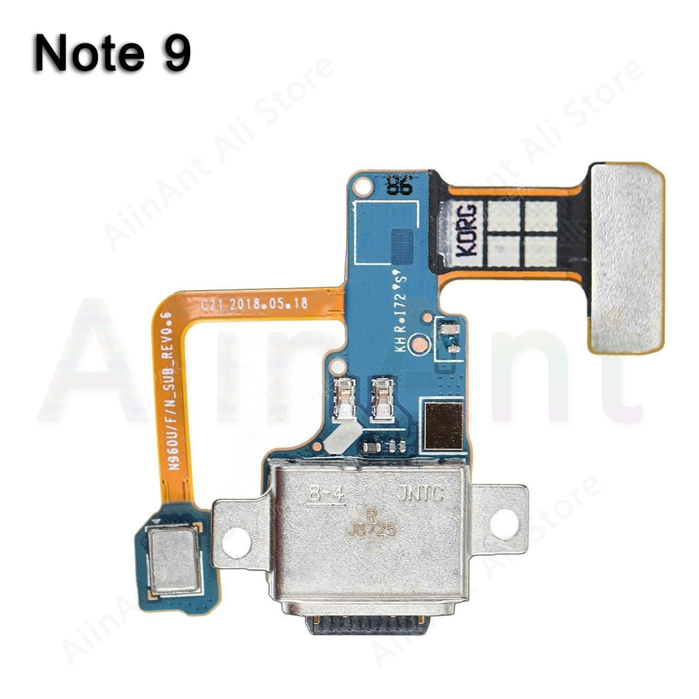 For Samsung Galaxy Note 9 N9600 N960u N960f N960n Type-c Original USB Charging Port Charger Dock Connector Flex Cable