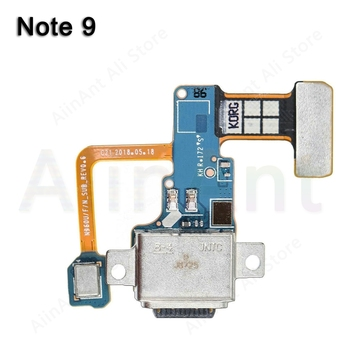 цена на For Samsung Galaxy Note 9 N9600 N960u N960f N960n Type-c Original USB Charging Port Charger Dock Connector Flex Cable